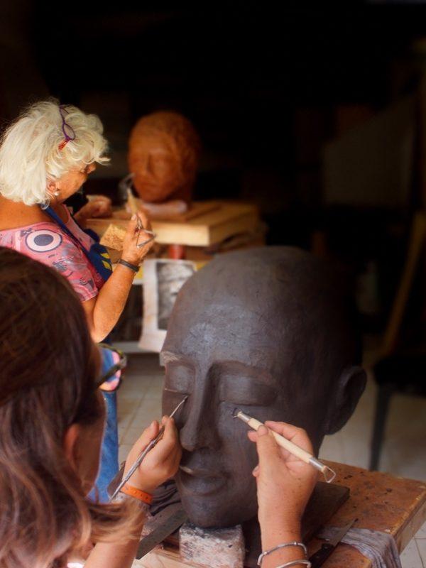 Stage de perfectionnement Modelage Sculpturenomade à Florensac